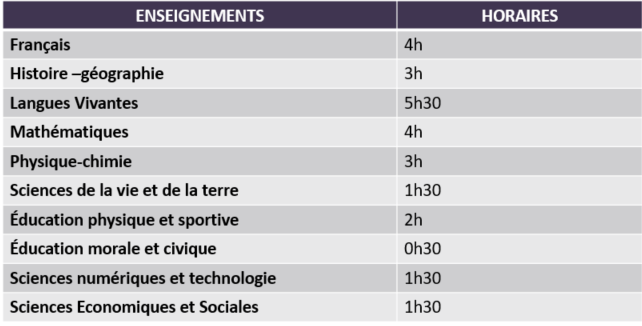 Horaires MGZ
